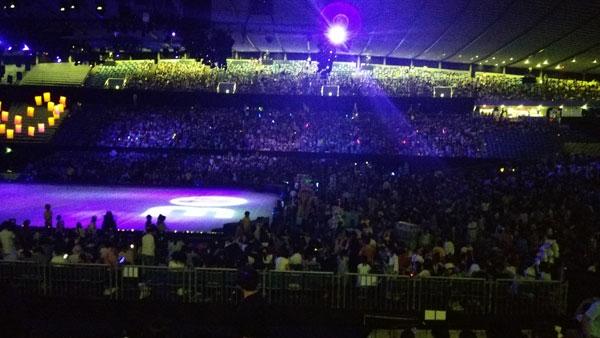 ディズニーオンアイス2015 座席からの見え方