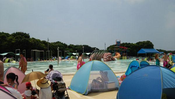 【画像あり】稲毛のプールに混雑覚悟で行ってきた!稲毛海浜公園プールデビュー