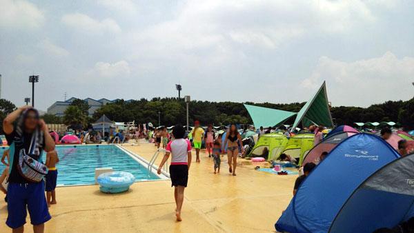 稲毛海浜公園 混雑