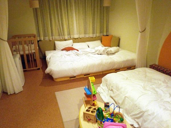 ホテルエピナール那須のベビールームに泊まってきたよ