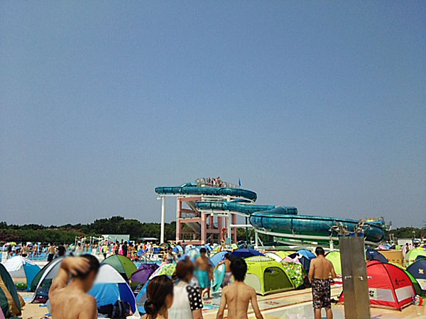 稲毛海浜公園プールに割引の前売り券で行ってきたよ!