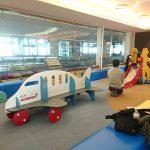 羽田空港のキッズコーナーの画像だよ
